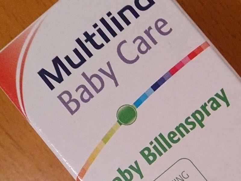 Multilind Baby bottom spray, Preventative
