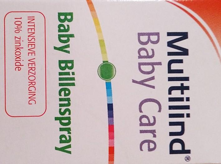 Multilind Baby bottom spray, Intensive